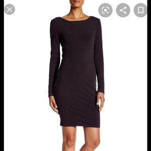 James Perse Skinny Scoop Back Dress